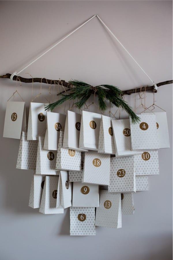 creative calendar ideas for christmas