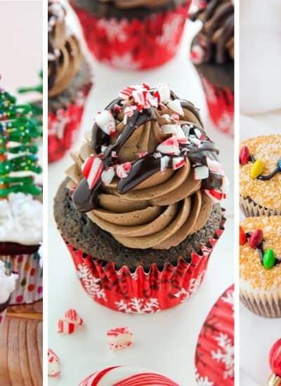 easy dessert ideas for christmas cupcakes