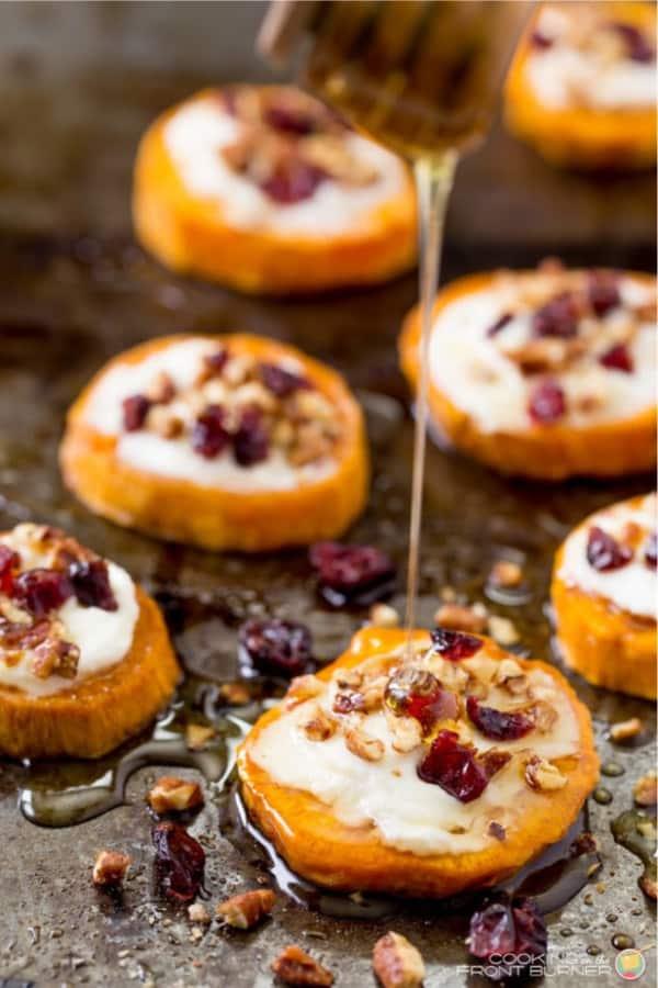 sweet potato little bites for appetizer