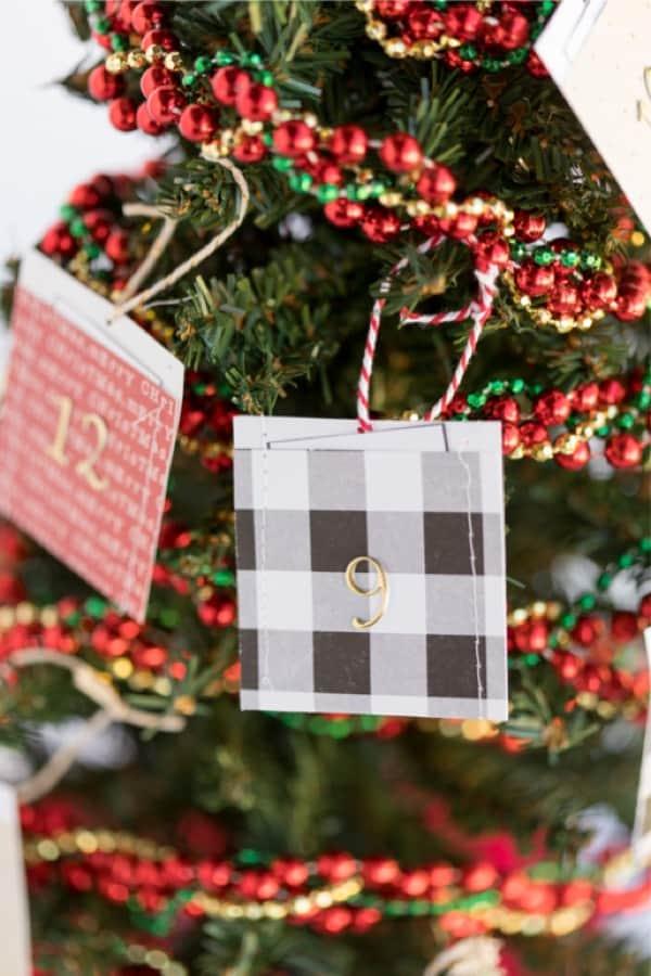 free printable for christmas calendar