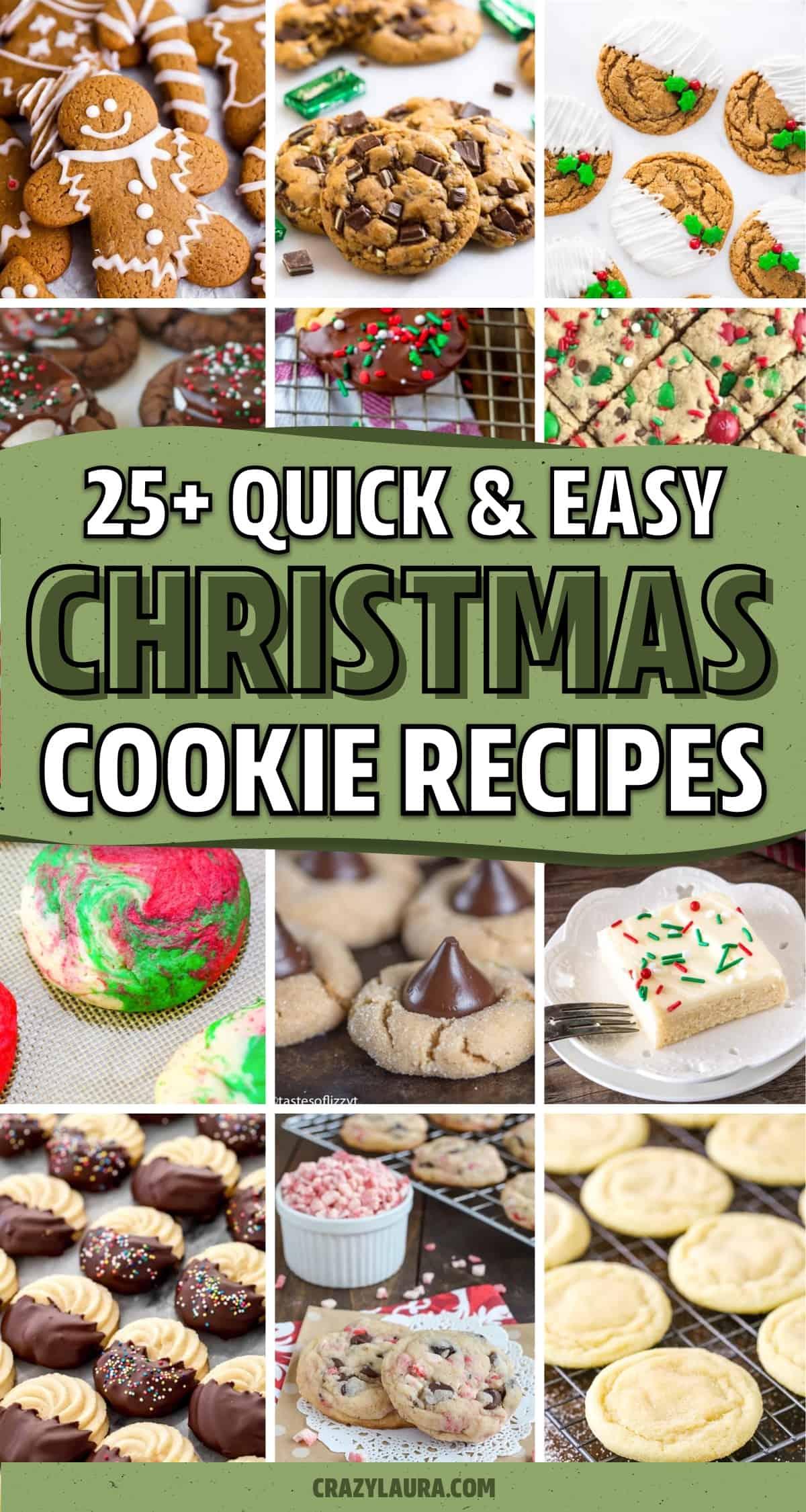 easy xmas cookie recipe ideas
