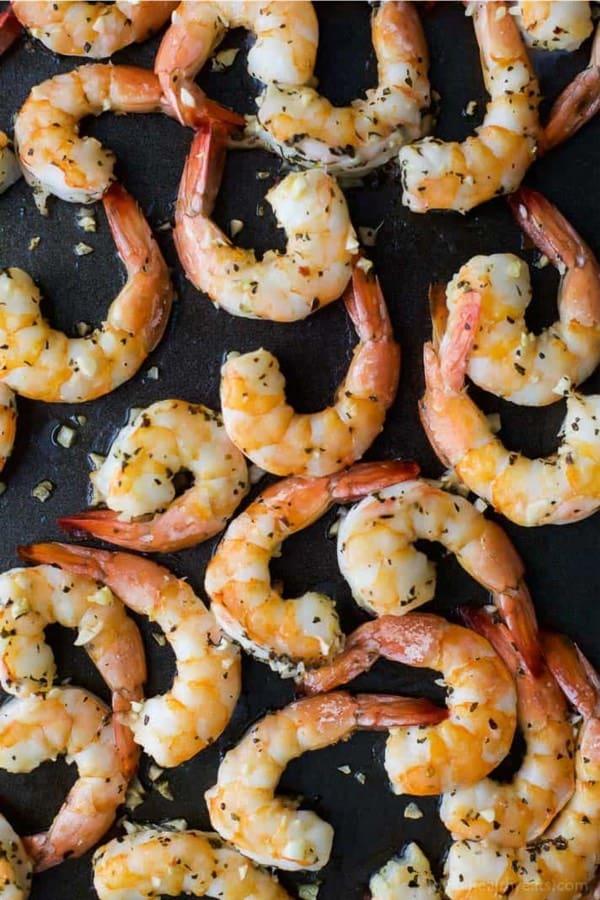 roasted shrimp for christmas appetizer