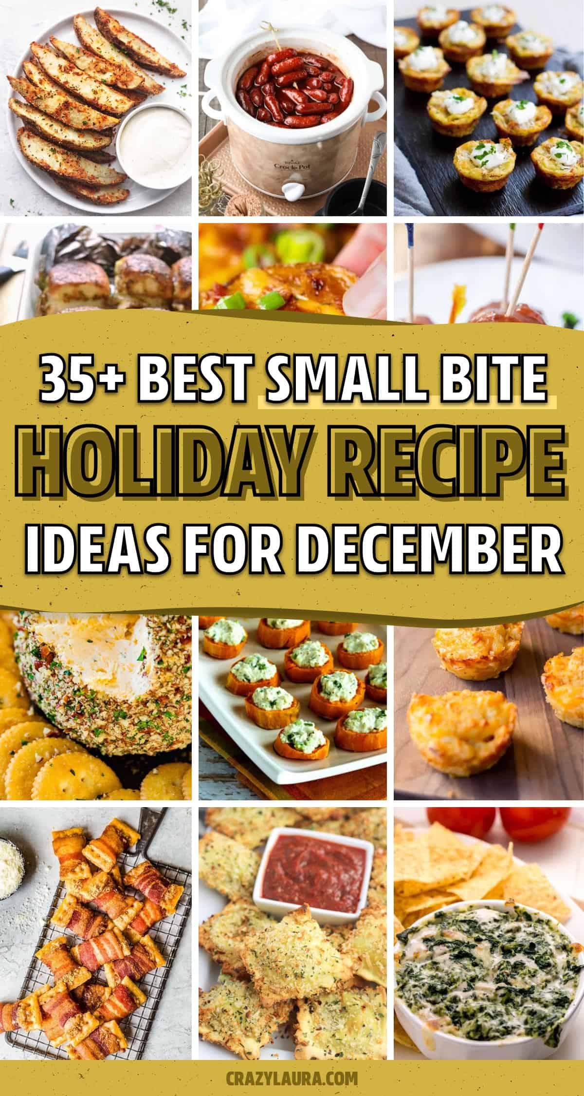 easy christmas appetizer ideas for december