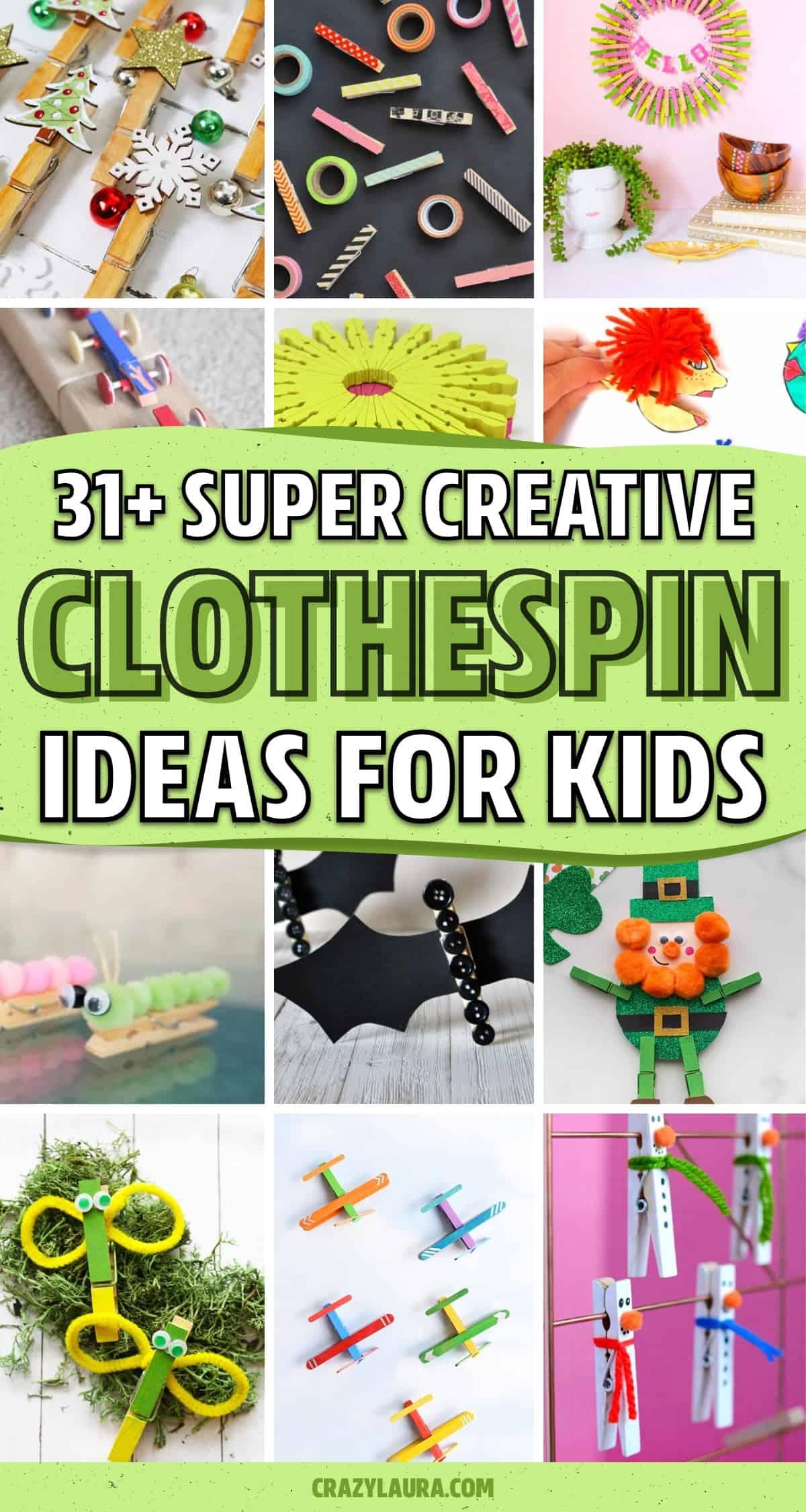 non messy kids craft ideas