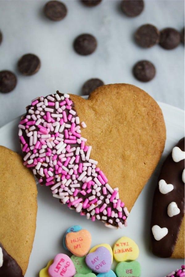 quick peanut butter valentine dessert