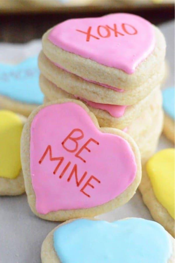 simple conversation sugar cookies