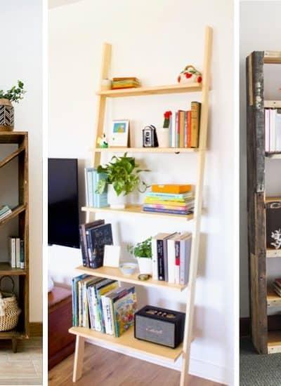 do it yourself bookshelfs