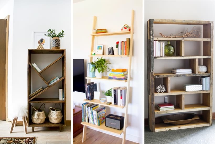 do it yourself bookshelfs