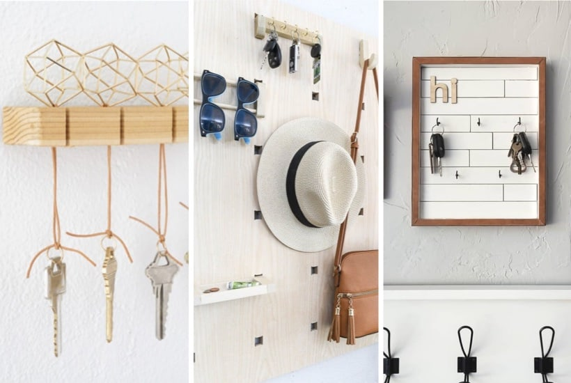 35+ Best DIY Key Holder & Shelf Ideas For 2021