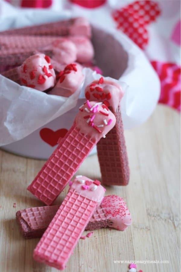 super simple valentines dessert