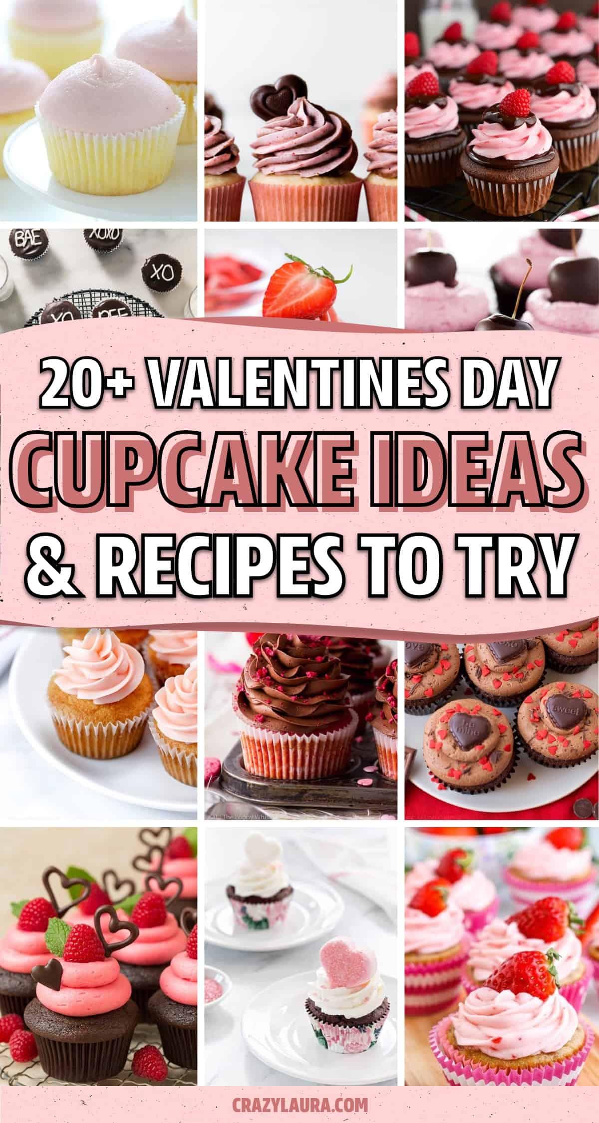 valentines day cupcake inspiration