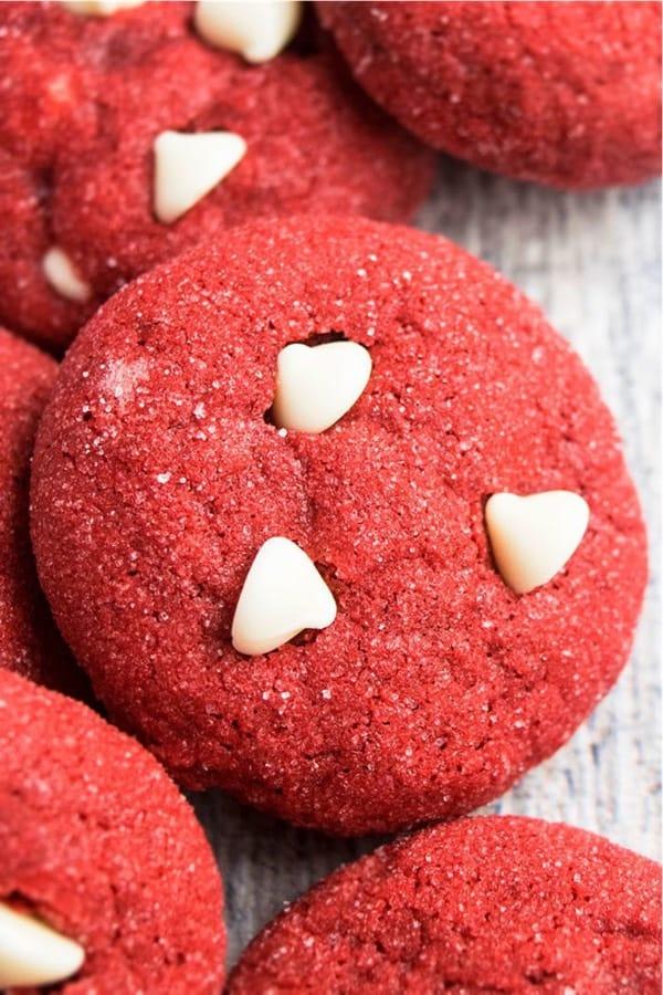 fun red velvet cookie recipe