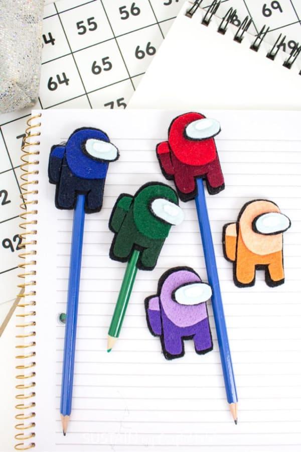 diy animal pencil topper crafts
