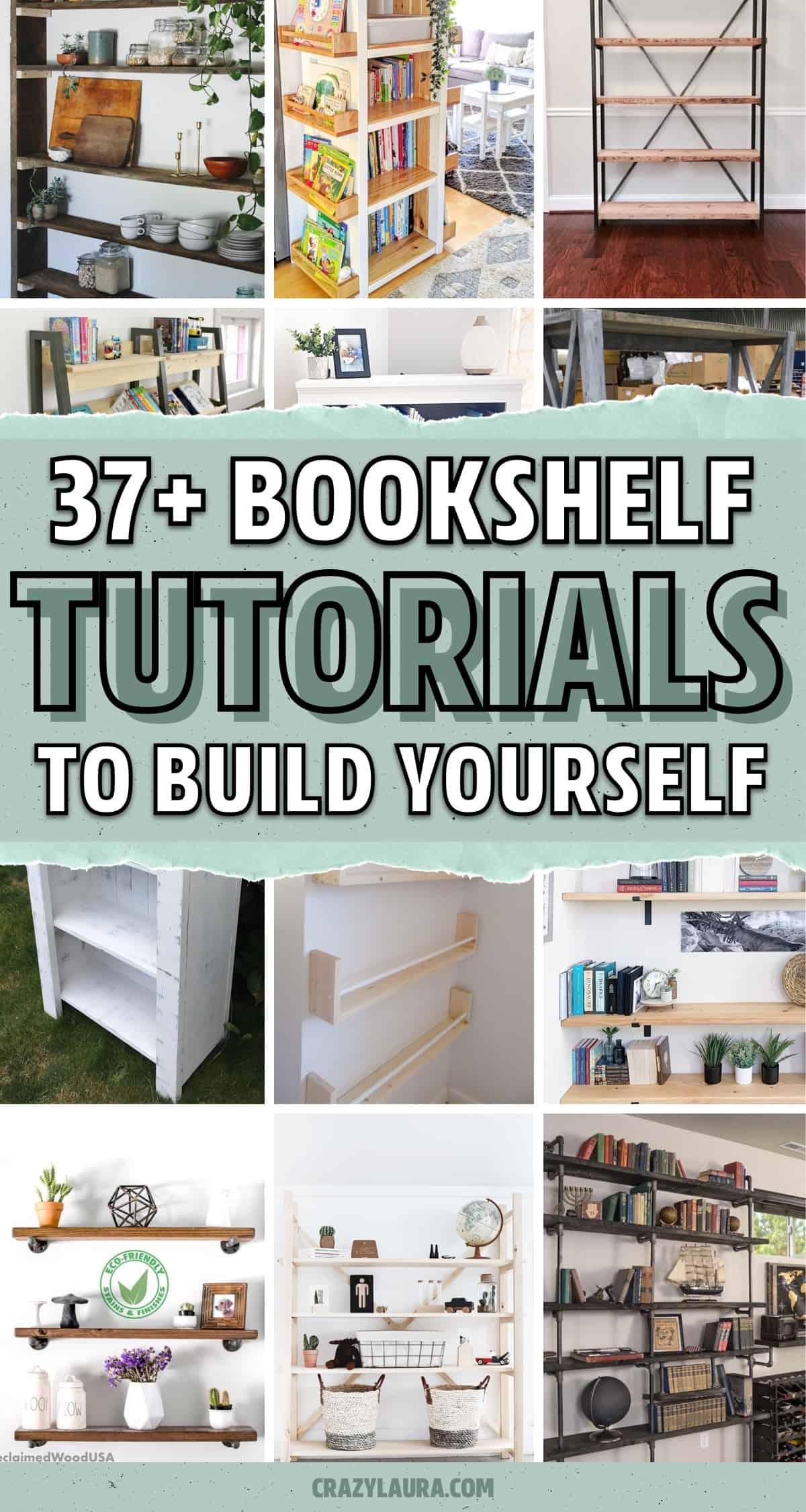 easy bookshelf to make yourself
