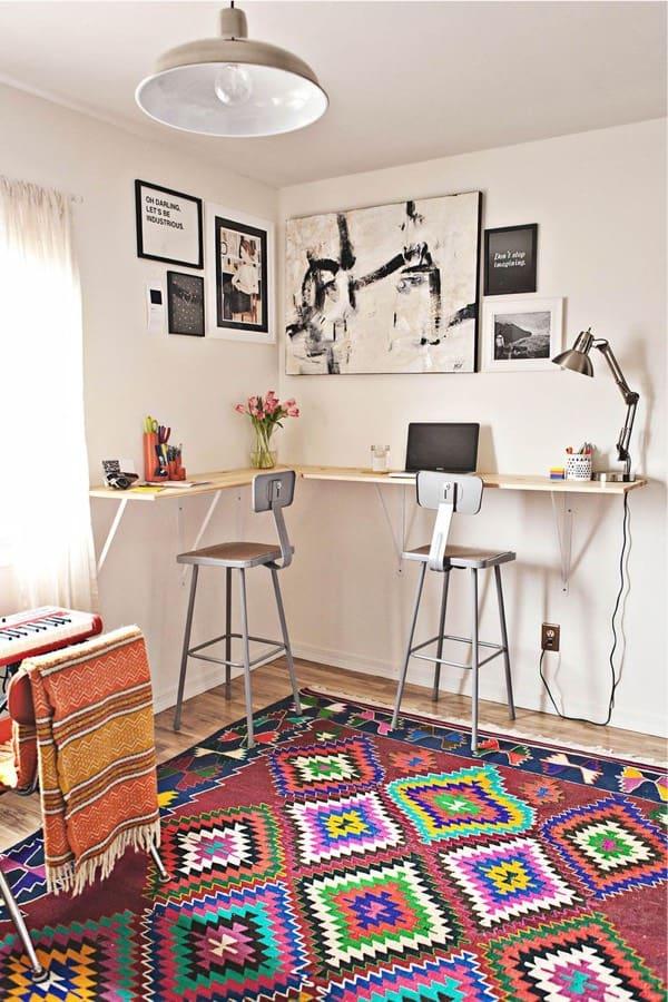 cheap standing desk for corner