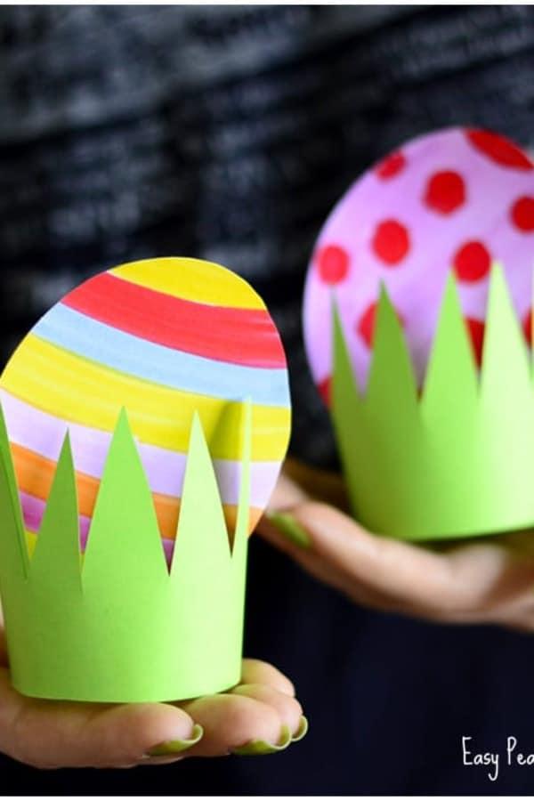 paper easter egg decoration