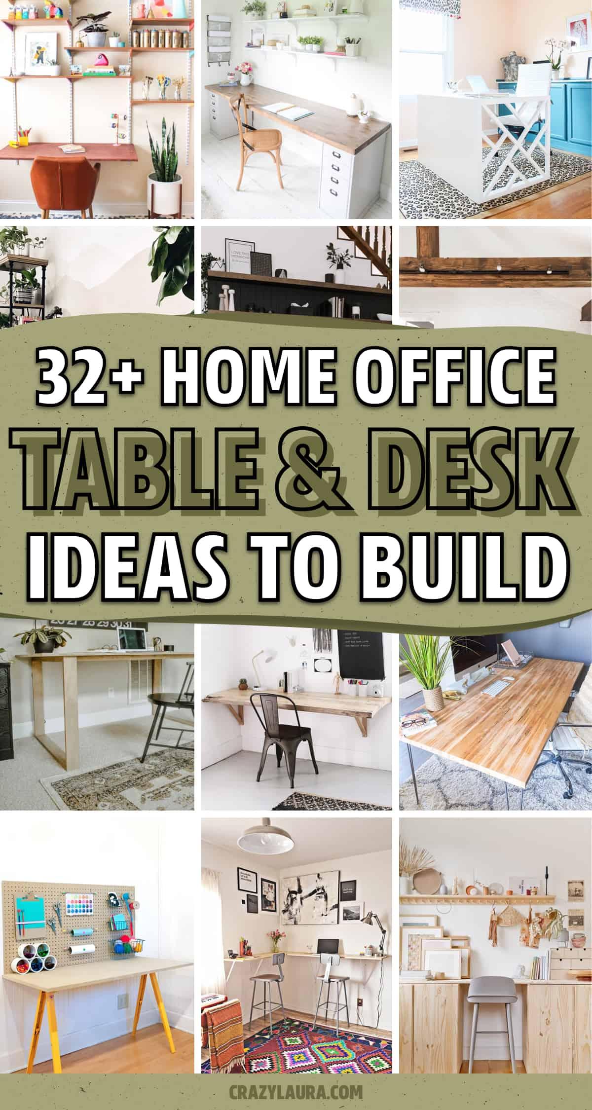 diy table ideas for home office