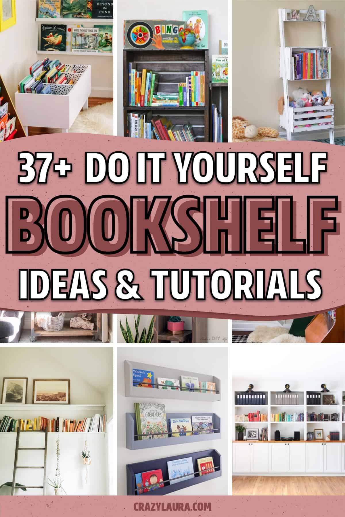 book storage tutorials