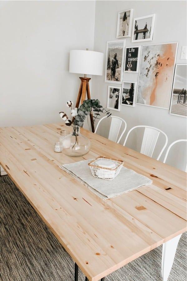 simple diy wooden table