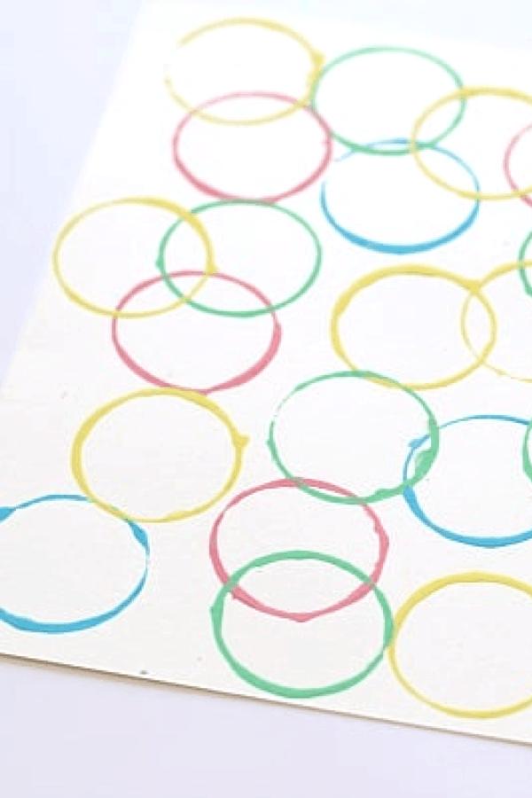 egg painting kids craft
