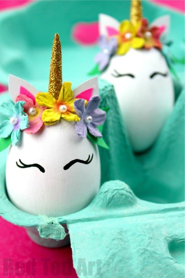 unicorn egg kid craft