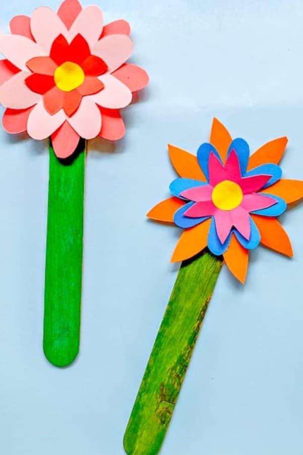 sunflower bookmark kids crafts