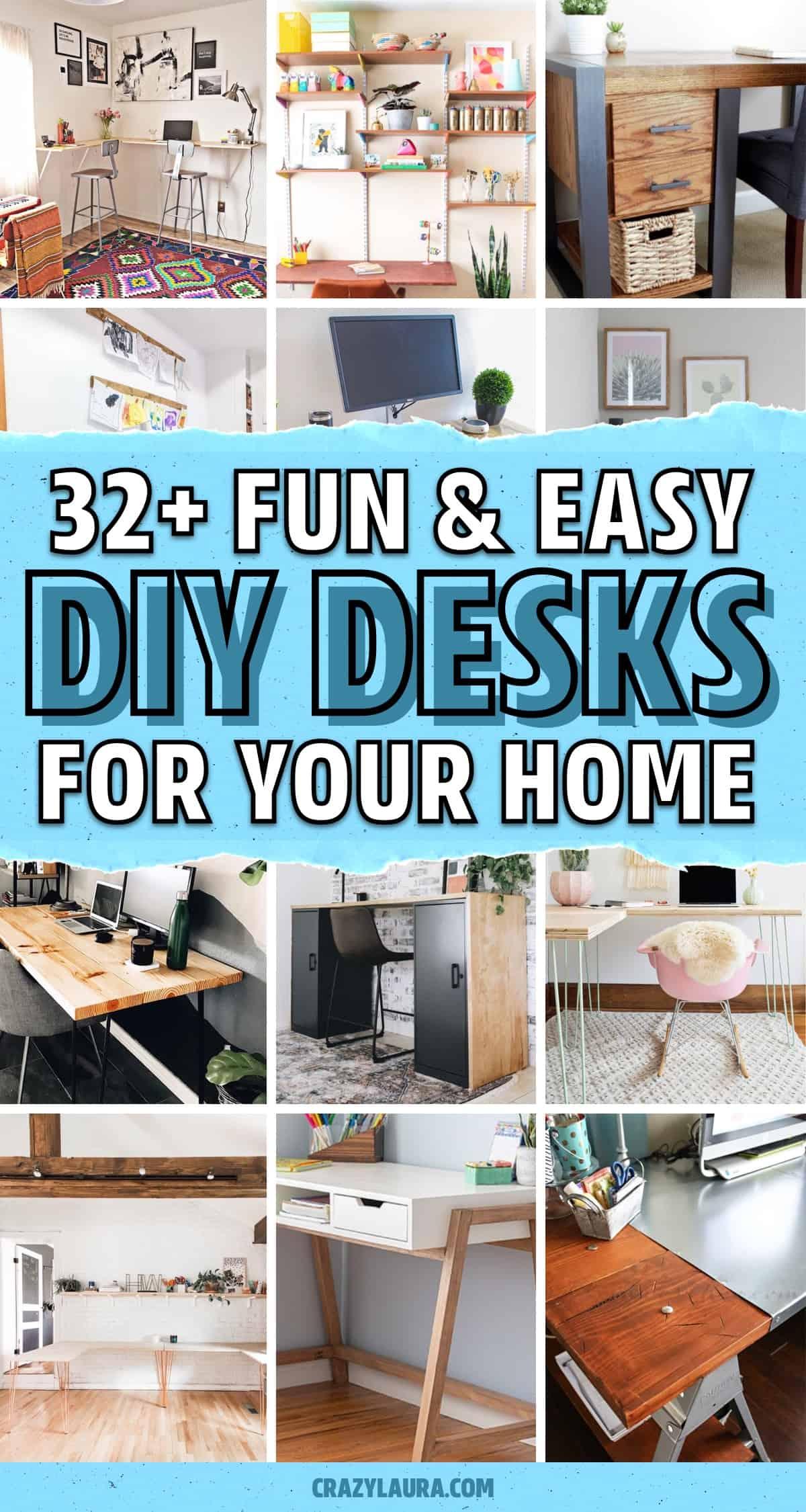 easy do it yourself desks