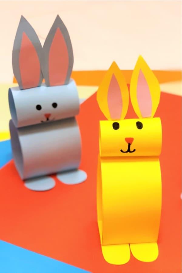 easter animal paper craft
