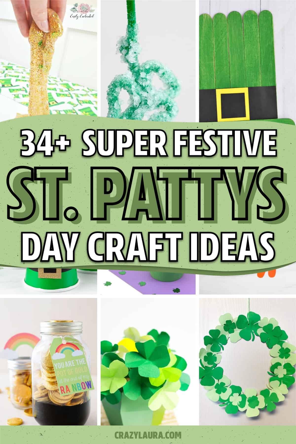 st. patricks day craft inspiration