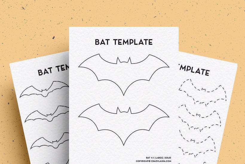 creative bat templates
