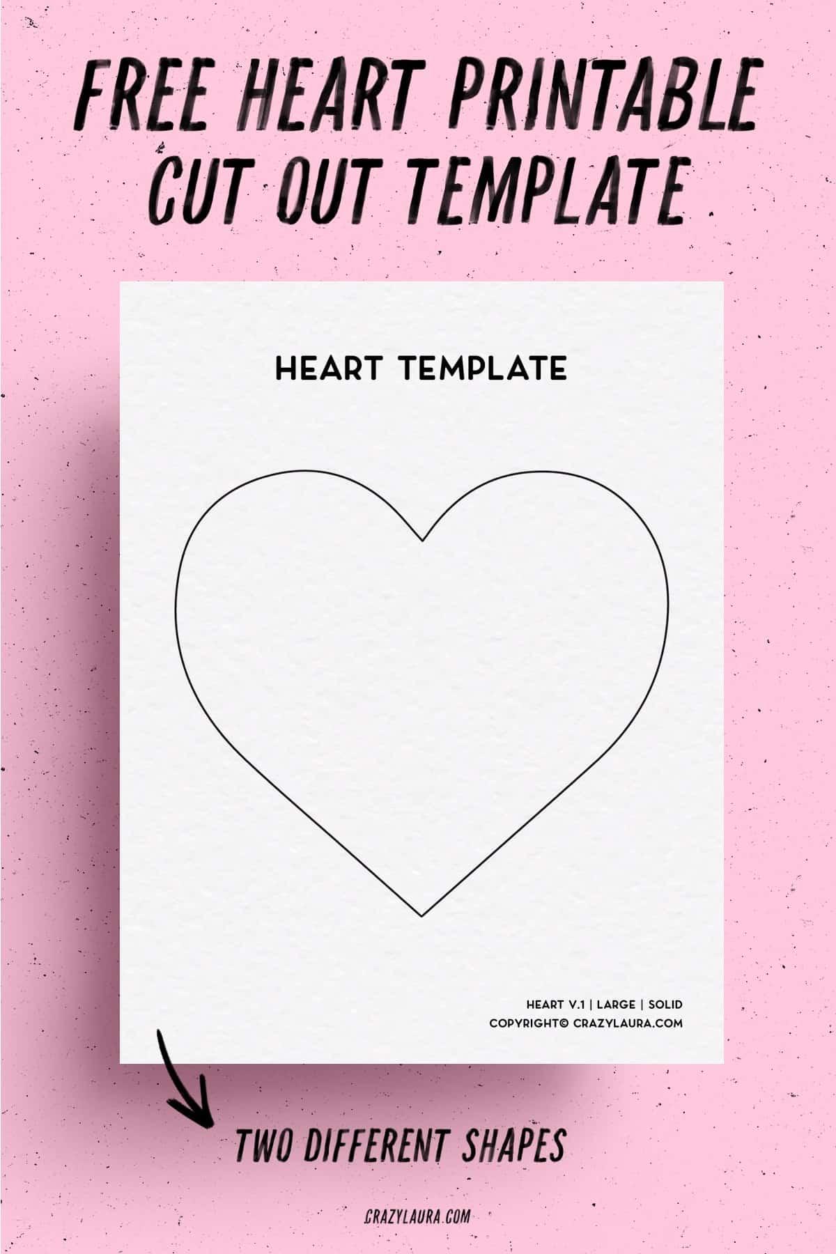 easy cutout heart shapes