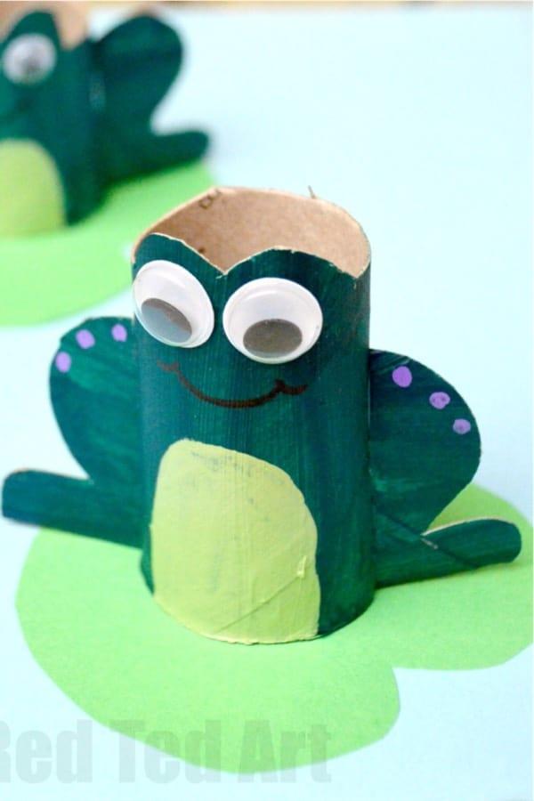 animal crafts using paper toilet rolls