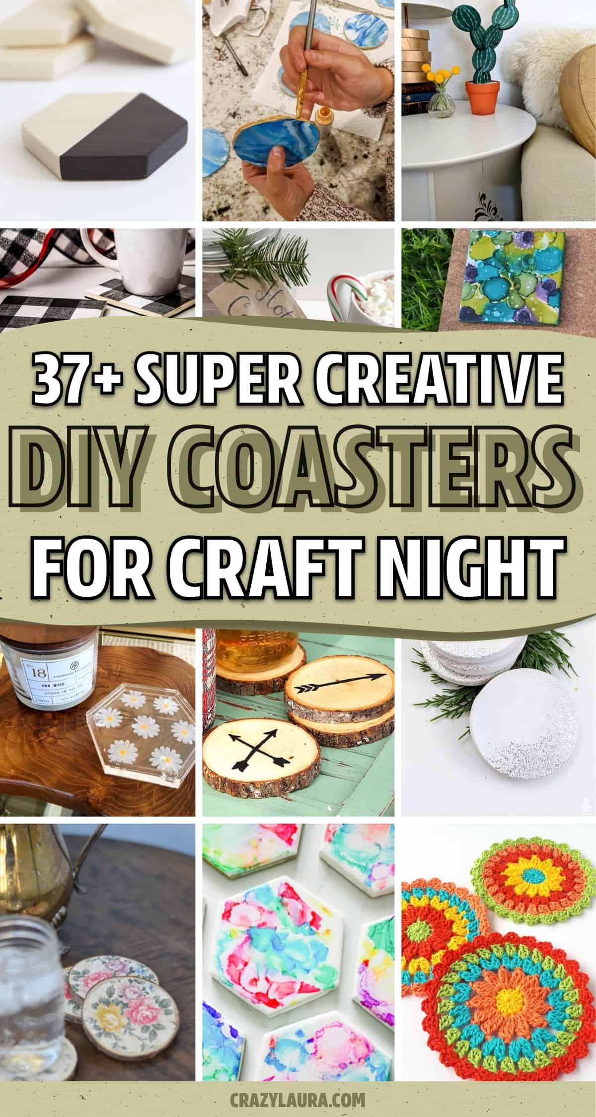 easy diy coaster ideas