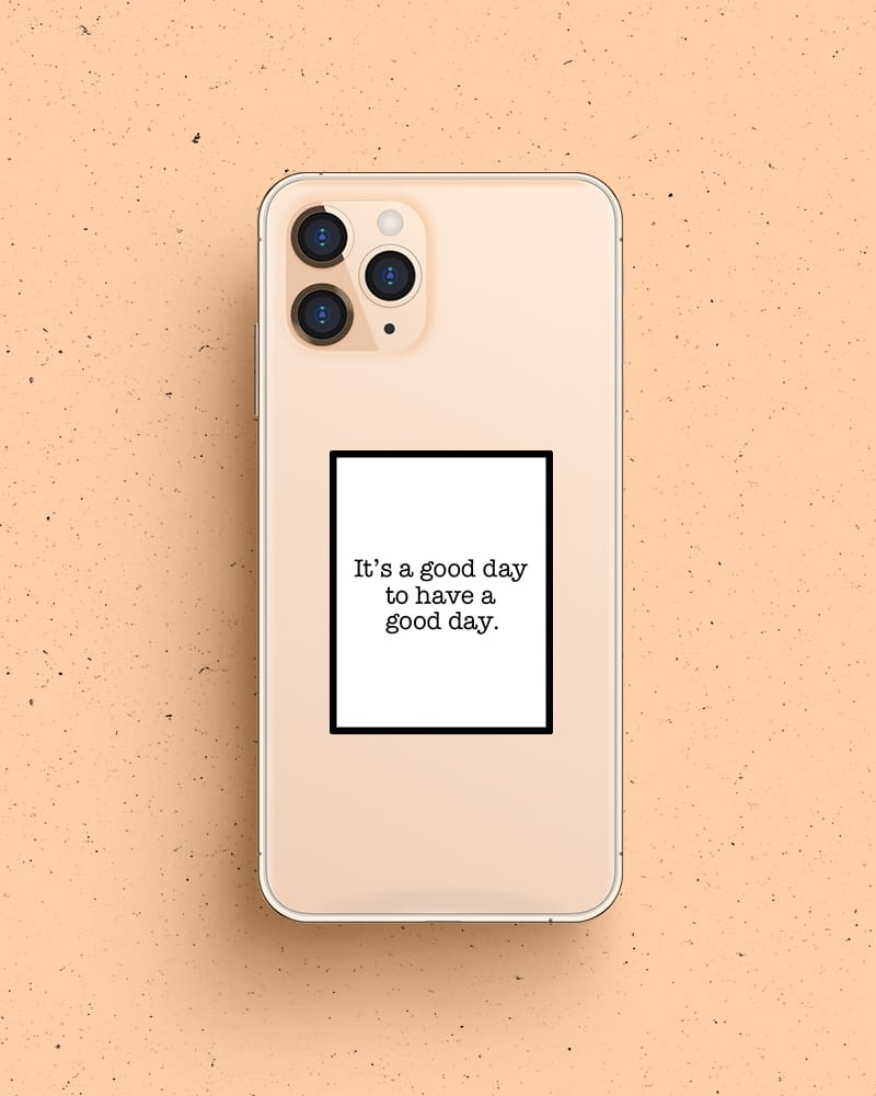 quote to print for phone case