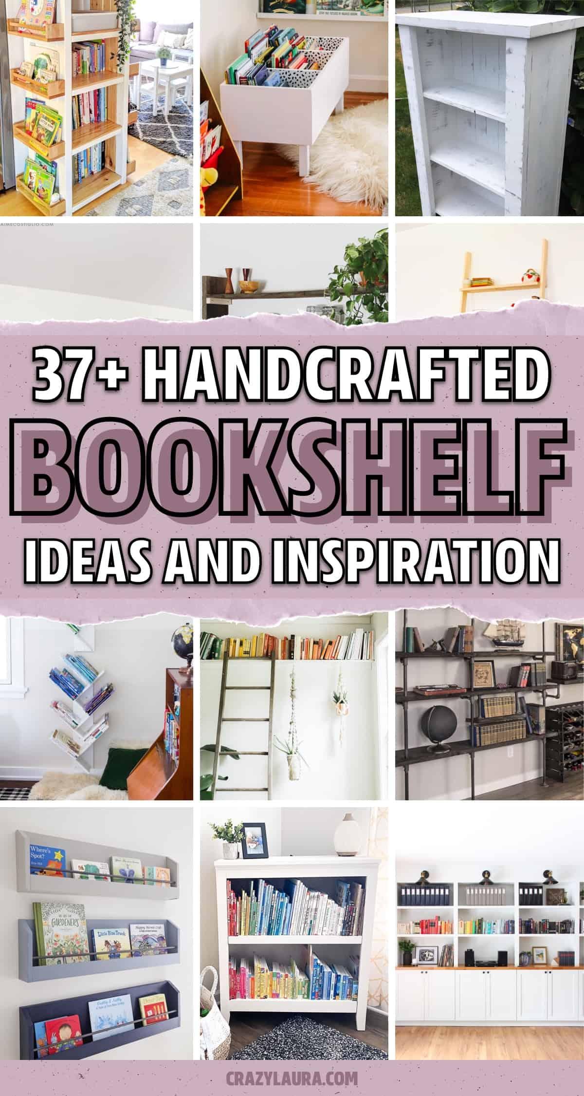 easy bookshelf ideas to build