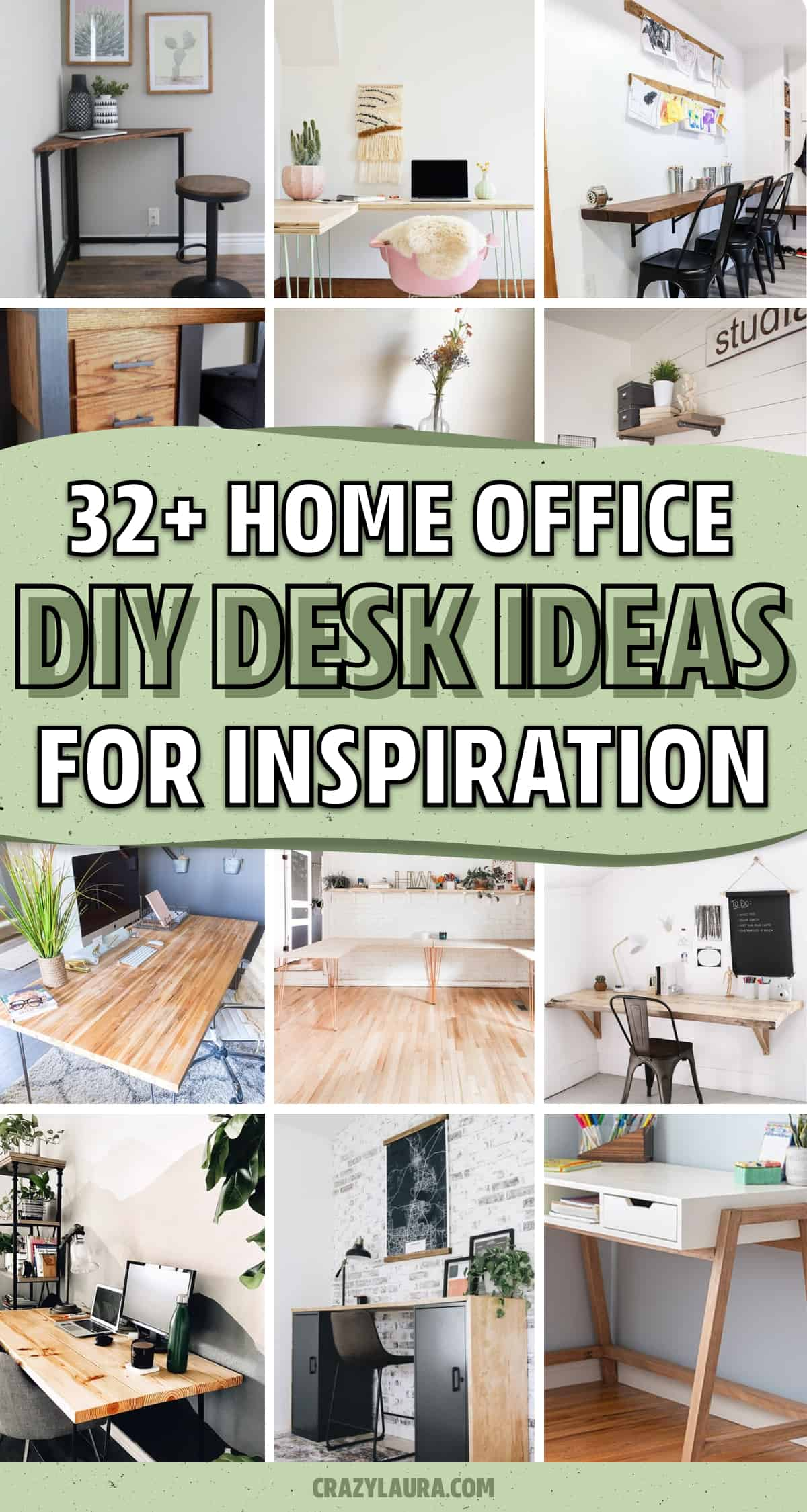 desk ideas to build for home office