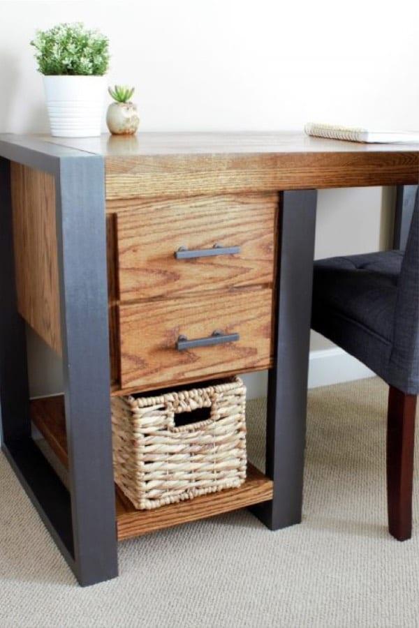 build your own industrial desk