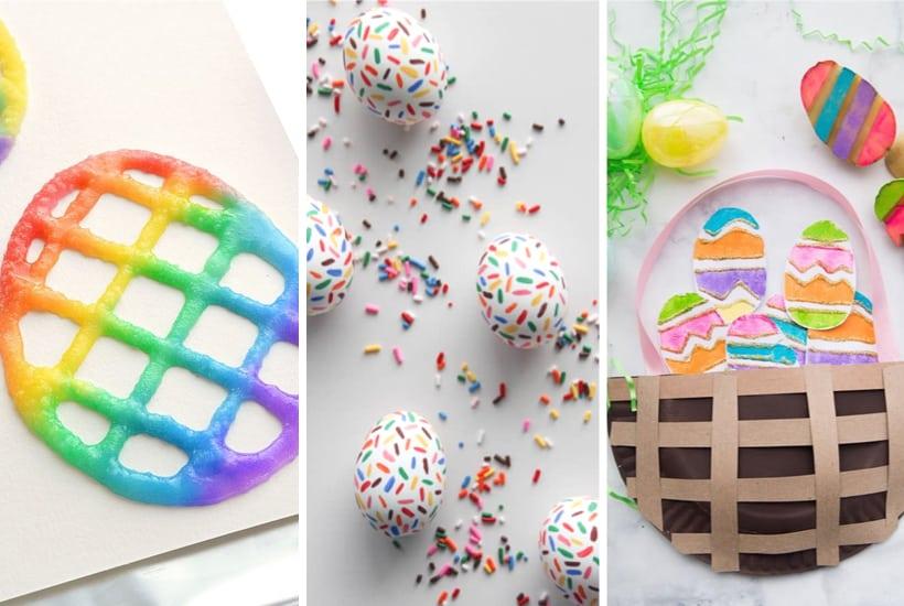 35+ Super Creative Easter Egg Crafts for Kids In 2021