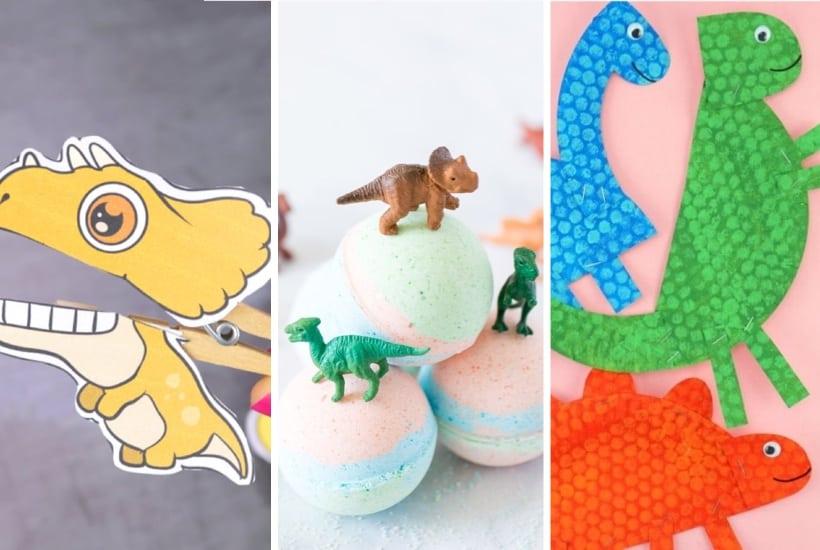 20+ Best Dinosaur Crafts & Tutorials For Kids In 2021
