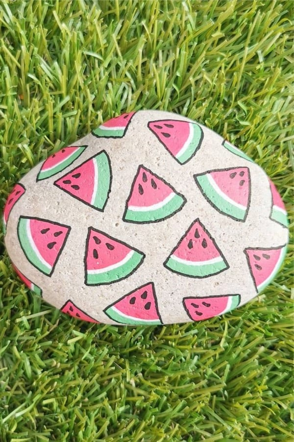 best ideas for summer rock painting