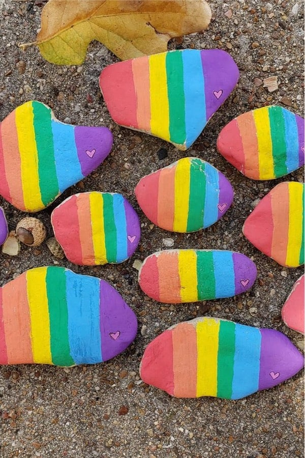 kindness rocks to make for summer