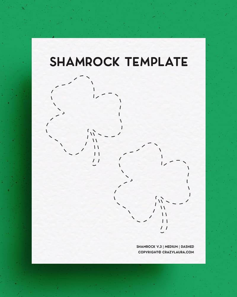 shamrock printable