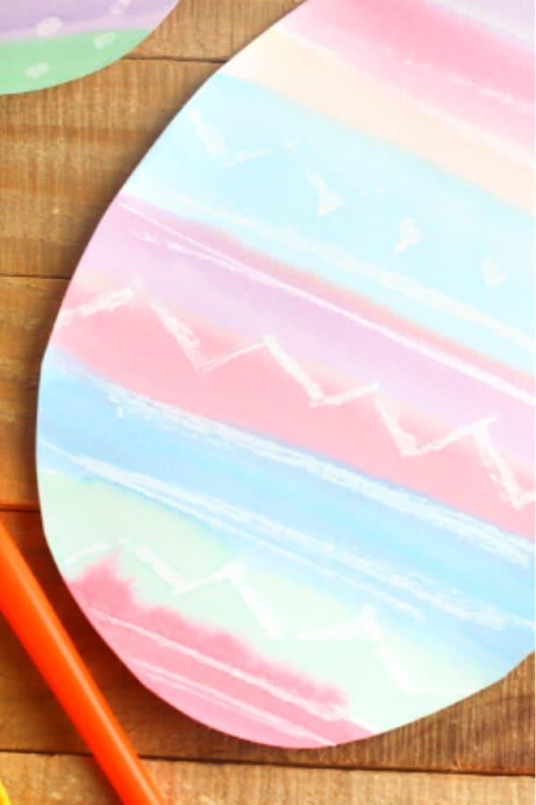 colorfun crayon easter egg