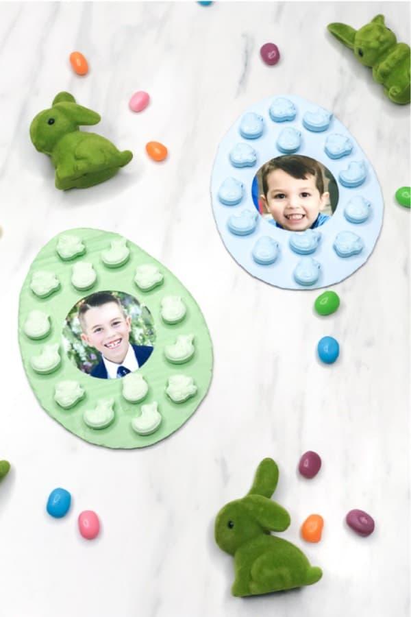 easter egg picture frame