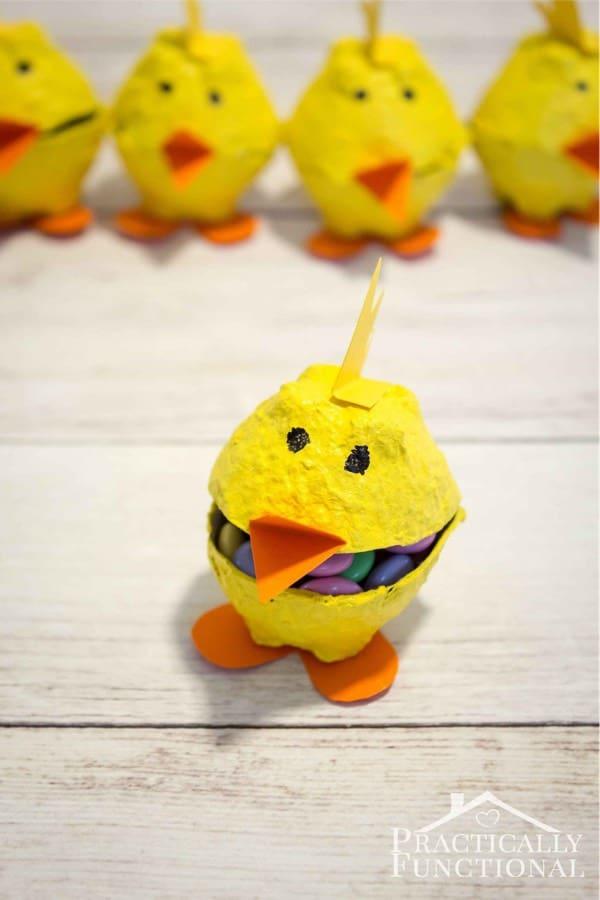 sppring chick craft for kids