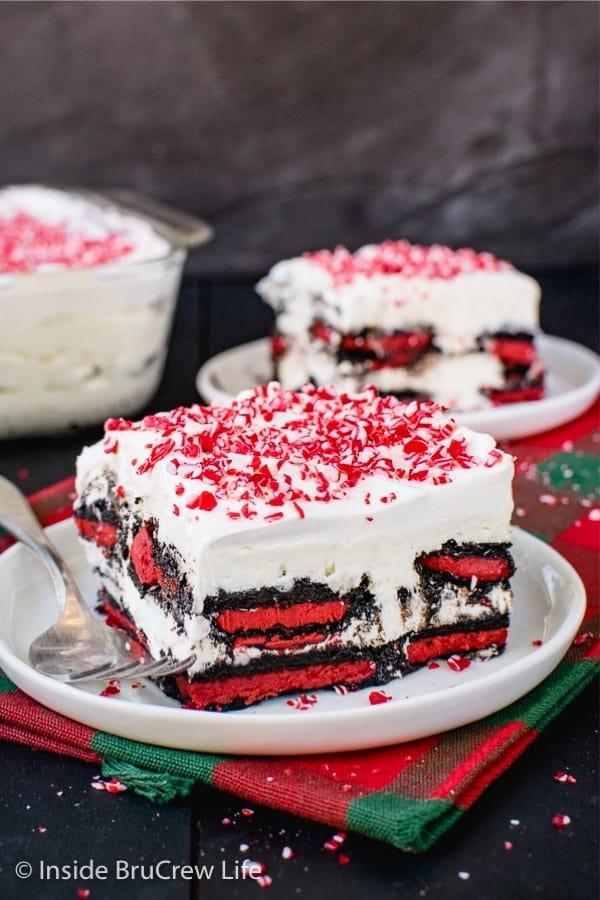 icebox cake recipe for the holidays