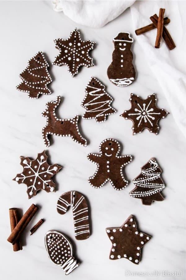 cinnamon dough diy ornament craft