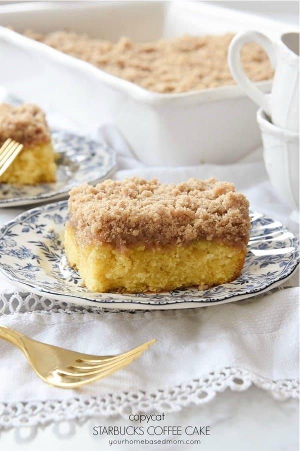 homemade coffee cake recipe tutorial