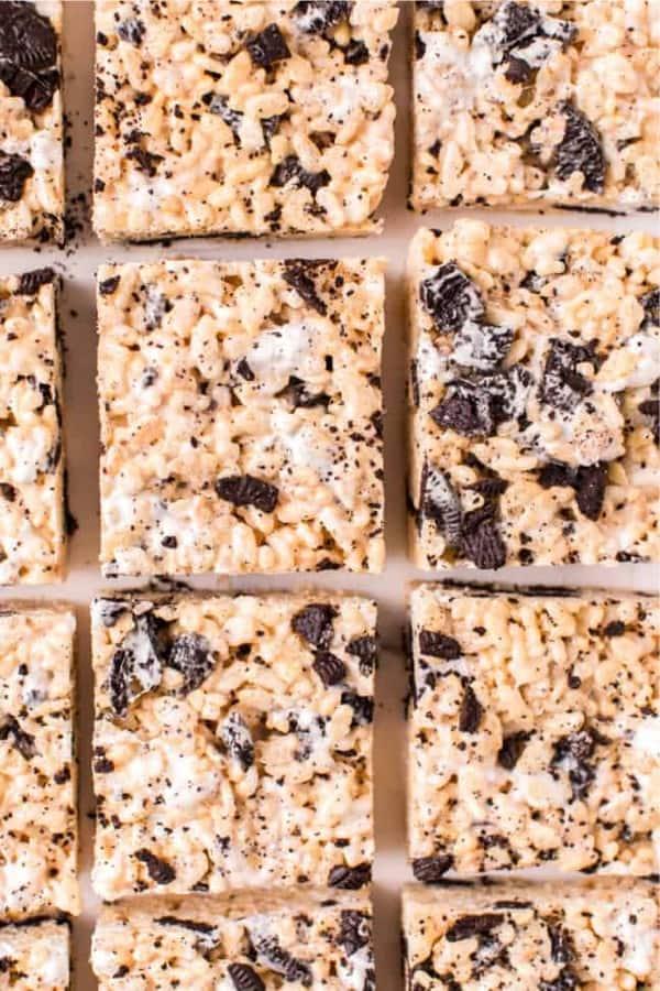 easy to make rice krispie dessert recipe