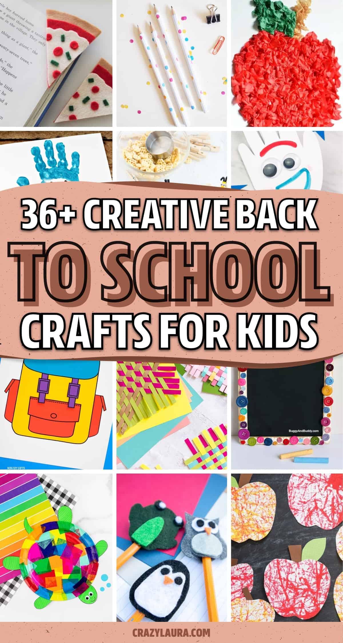 school crafts for kids